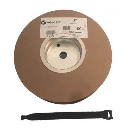Velcro 20 cm Rip-Tie - Roll with 100 pcs