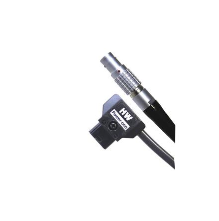 D-Tap male to Lemo 6-pin Epic, 45 cm