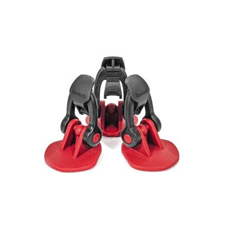 Rubber feet Flowtech, set of 3