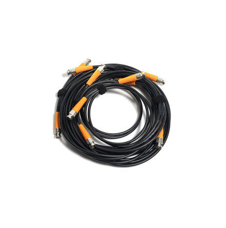 L3CFW Coax Cable BNC-BNC 75 Ohm 3G-SDI Black