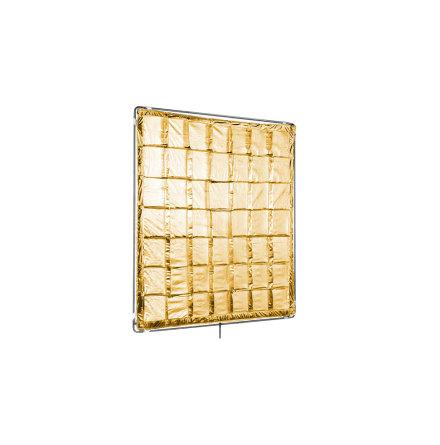 4x4ft Gold Reflector (Slip On Shiny-Board)