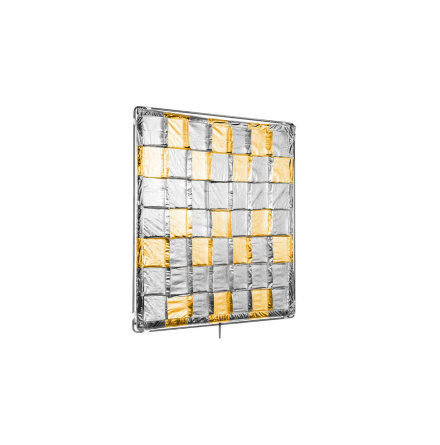 4x4ft Silver/Gold Reflector (Slip On Shiny-Board)