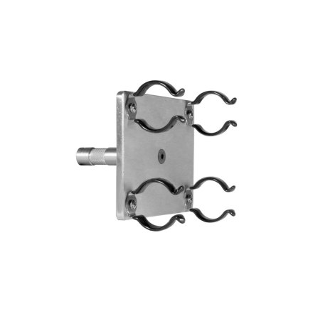 Lamp Holder T12 Dual Fluorescent 5/8 pin rubber clips