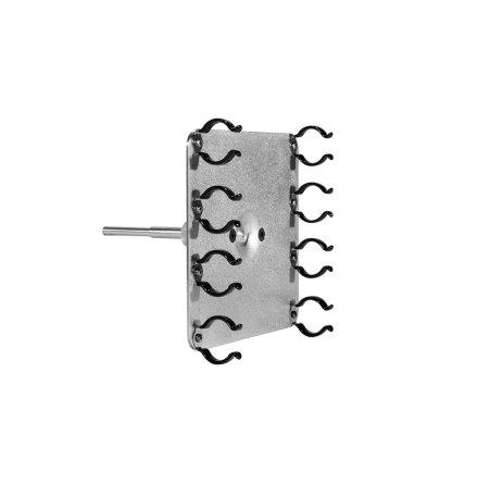 Lamp Holder T12 Quad Fluorescent 5/8 pin rubber clips