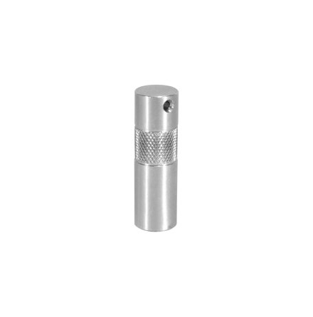 2 in. Aluminum Baby Pin with 3/8 in. Female Thread