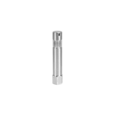 3 in. Aluminum Baby Pin with 1/4 in. Female Thread