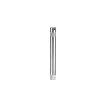 6 in. Aluminum Baby Pin with 1/4 in. Female Thread