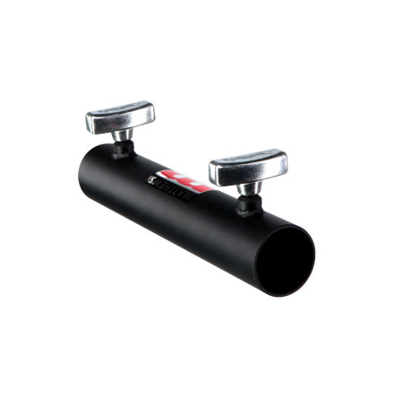 """Connector for 1-1/2"""" Pipe (50 mm) Black"""