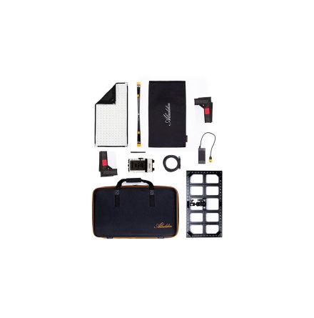 BI-FABRIC 2 Kit (100W Bi-Color) w/ V-Mount and Kit Case