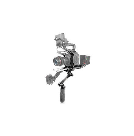Canon C500 Mark II Camera Cage, Baseplate with Handle