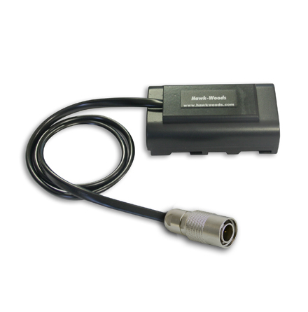 Hirose 4-pin (M) - Sony NPF Dummy Battery 8V 45cm