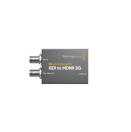 Micro Converter SDI to HDMI 3G (with PSU)