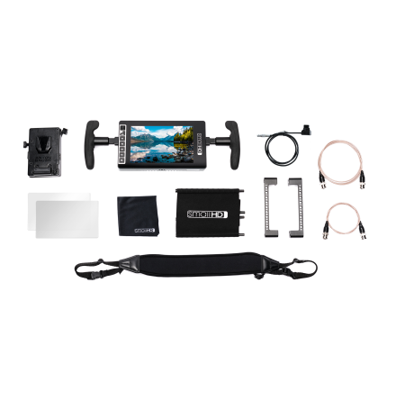 SmallHD 703 UltraBright Directors Kit - V Mount