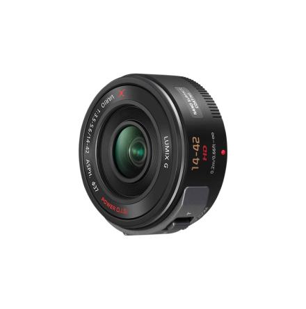 Panasonic Lumix Lens G X PZ Vario 14-42mm Black