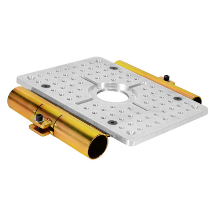 Mitchell Cheese Plate with 2x 1-1/2 in. Slider Brackets