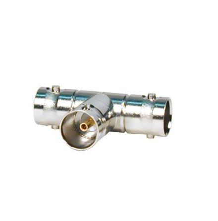 BNC T-adapter Video 75 Ohm 3 x Female