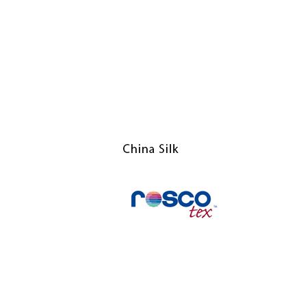 China Silk 6x6 - Rosco Textiles